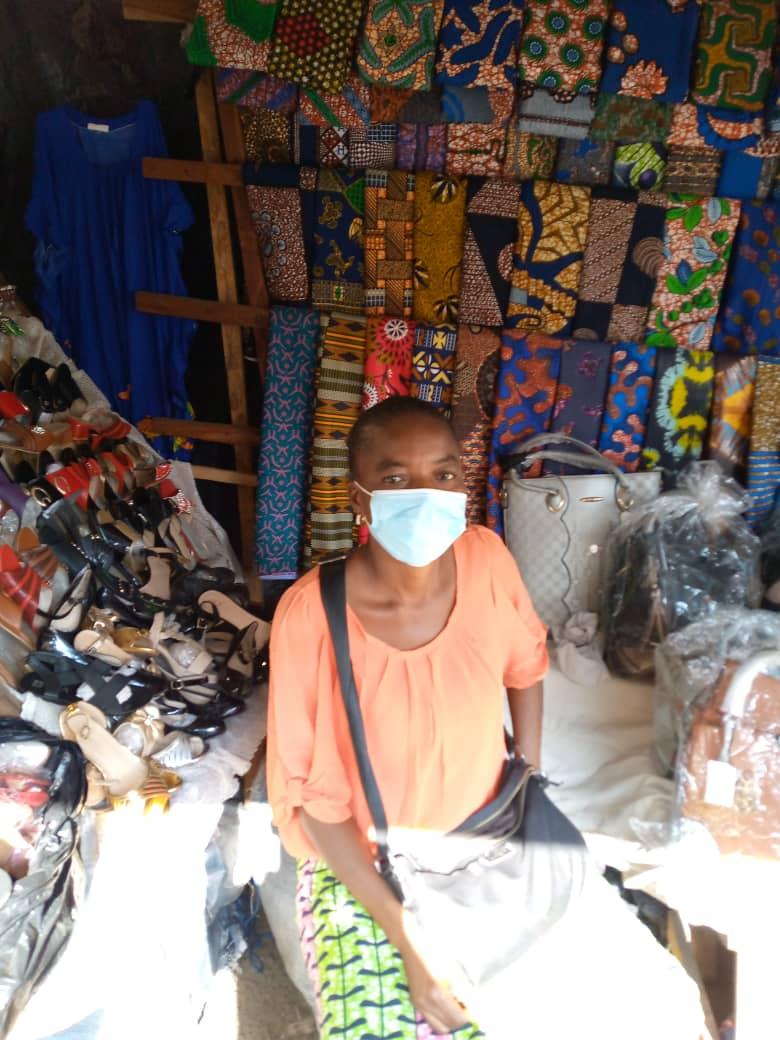 ''Je pense vraiment que le FNFI nous a donné tous les moyens d'aller de l'avant et comme moi plusieurs milliers de personnes de par le Togo en profitent et en témoignent jour après jour'', KOMBATE Adjowa, bénéficiaire APSEF.