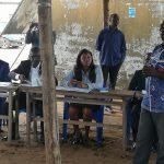 Visite de Madame Mazamesso ASSIH dans la zone portuaire de Lomé